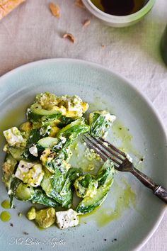 Easy Cucumber, Mint and Feta Salad @ Not Quite Nigella