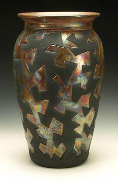 Jigsaw raku glaze