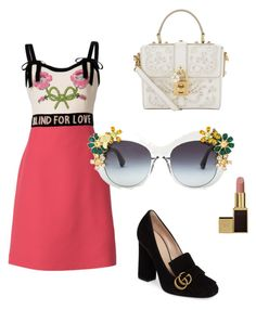 """Lola"" by miumiudeleeuw on Polyvore featuring Gucci, Tom Ford and Dolce&Gabbana"
