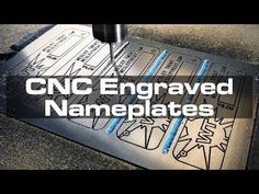 Switching away from my previous acid-etching technique, I'm now engraving my custom nameplates robotically! PATREON EXCLUSIVES If you'd lik. Number Stamps, Drill Driver, Metal Projects, Cnc, Adhesive, Carving, Make It Yourself, Earn Money, Youtube