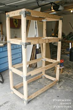 pneumaticaddict.com - Simpson Strong-Tie kit for strong shelving