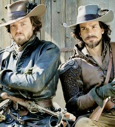 The Musketeers II (Athos and Aramis) Just look at them <3