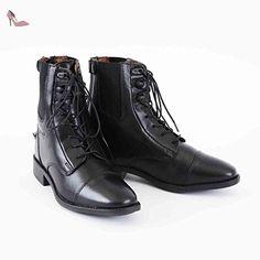 Schnürstiefelette Belfort, schwarz, 43 - Chaussures unbekannt (*Partner-Link)
