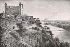 Bratislava 1850 - Stránka o šľachtických rodoch Bratislava, Old Pictures, Old Photos, Historical Pictures, Monument Valley, Paris Skyline, Castle, Painting, Jane Eyre