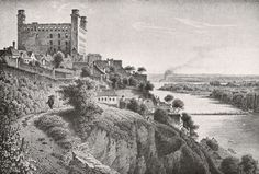Castle in the mid-1800s