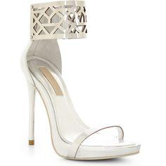 BCBGMAXAZRIA Estie High-Heel Sandal ($250) ❤ liked on Polyvore