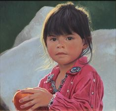 Marisole at Three Years Old by George Molnar kp