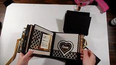 Golden Romance 6x6 Mini Album Tutorial - Part 1