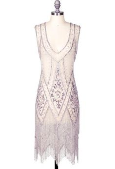 Style Gatsby Beaded Fringe Party Dress - The Icon - Light Pink Bon Bon Vintage Style Outfits, Vintage Dresses, Vintage Fashion, Fashion 1920s, Vintage Prom, Vintage Couture, Retro Vintage, Hoco Dresses, Dresses For Sale