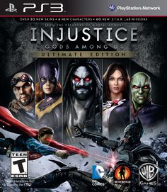 Amazon.com: Injustice: Gods Among Us (Ultimate Edition): Playstation 3: Video Games
