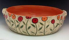 Painted Ceramic Plates, Ceramic Pots, Ceramic Painting, Pottery Painting Designs, Pottery Designs, Pottery Pots, Ceramic Pottery, Ceramic Texture, Pottery Handbuilding