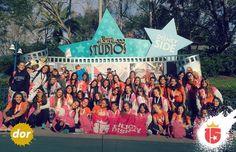 El grupo #doradoF16 pasó por Disney Hollywood Studios y registró su visita allí!  #15 #temporadaFebrero2016 #enjoy15