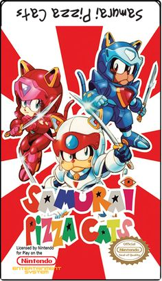 Samurai Pizza Cats omg.. anyone else remember this?!?!?