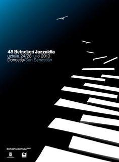 Cartel ganador del 48 Heineken Jazzaldia