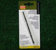 Proxxon 28747 lama a taglio omnidirezionale 130 mm per legno dolce duro plastica