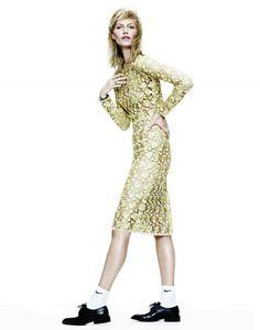 Vogue China Editorial June 2014 - Amy Hixson by James Brodribb Photographer: James Brodribb Stylist: Regina Chan Model: Amy Hixson