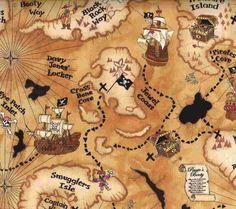 Treasure Map Printable
