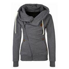 Womens Hoody Hoodie Sweater Tops Hooded Sweatshirt Pullover Zipper Jumper Coat | eBay