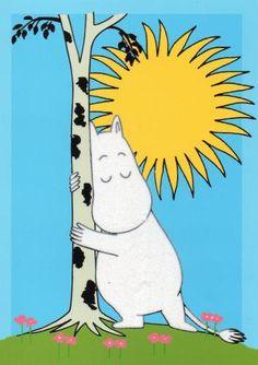 Moomin, Swedish cartoon. Love the illustrations. Adorable