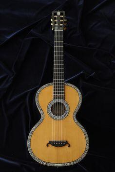 Guitare Romantique Anglaise, 1865