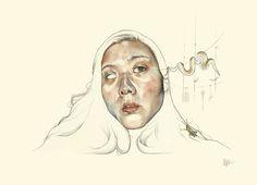 Juxtapoz Magazine - Update with Toronto's Haejung Lee