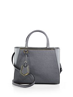 ca730d67d581 Fendi - 2 Jours Petite Leather Shopper