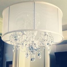 Crystal lighting! Wow so nice would love this in my bedroom dont know how BF would feel about it!