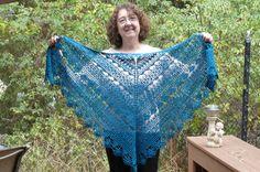 Ravelry: TeaLover's Free Spirited Lace Shawl