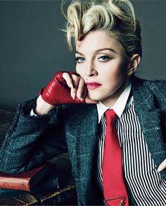 Madonna Vogue L'uomo 2014