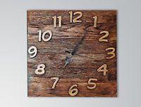 Orologio Da Parete Rustico vintage Art arredamento casa bar pab Wood Wall Clock