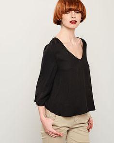 ΜΠΛΟΥΖΑ ΜΑΚΡΥΜΑΝΙΚΗ Bell Sleeves, Bell Sleeve Top, Spring Summer, Blouse, Long Sleeve, Collection, Tops, Fashion, Moda