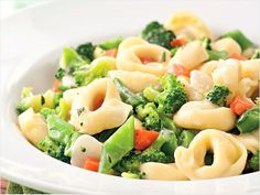Tortellini Primavera - fast and mostly healthy...