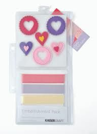 KaiserCraft  Embellishment Pack  Made with Love by sagebrush12, $4.00