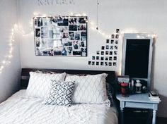room, bedroom, and bed 이미지