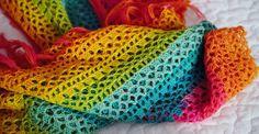 Patrón de Poncho colorido a ganchillo - Manualidades Y DIYManualidades Y DIY
