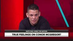 Nate Diaz Discusses his Feeling Towards Conor McGregor, The Stockton Sla...