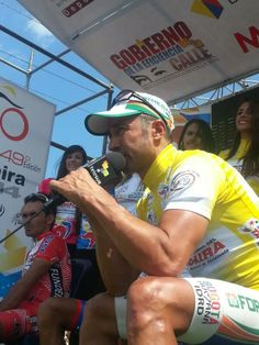 Félix Cárdenas en rueda de prensa exclusiva para @teleSUR tv #VueltaAlTáchira #Venezuela (foto: @rupertoteleSUR)
