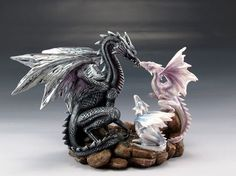 Family of Dragons, #dragons #collectible #figurine