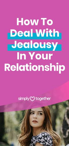 Tips to help you overcome the negative effects of jealousy in your relationship. Here you'll find advice on how to deal with your own or your boyfriend's insecurities. Overcoming Jealousy, Dealing With Jealousy, Jealousy In Relationships, Relationship Advice, I Am Jealous, Negative Traits, Social Media Buttons, Feeling Inadequate, Improve Communication