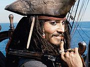 Johnny Depp or Jack Sparrow -- both are worthy
