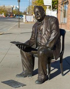 """Rapid City, South Dakota - The City of the Presidents - """"Grover Cleveland"""""""