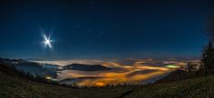 Brescia sotto la nebbia dal Monte Maddalena by Bobby Photography's - Landscapes Cloud Formations