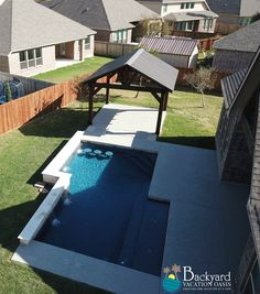 Passionate Pool Makers with A Perfect Touch Pool Ideas, Backyard Ideas, Leisure Pools, Pool Contractors, Fiberglass Pools, Backyard Paradise, Custom Pools, In Ground Pools, Pool Designs