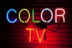 Color TV by Thomas Hawk, via Flickr