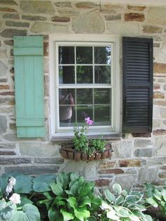 Earlier in the summer I posted about the shutters I made for our house. And, how I painted them. Here's the video that explains how to make your own shutters. If you've been dying to ma… House Shutters, Diy Shutters, Window Shutters, Exterior Shutters, Cottage Shutters, Homemade Shutters, Country Shutters, Modern Shutters, Green Shutters