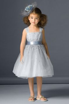 something blue - little girl dress