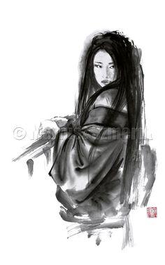 Hey, I found this really awesome Etsy listing at https://www.etsy.com/listing/168145524/geisha-art-geisha-creations-dress-woman