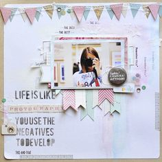 Scrap Around The World: June 2013 Challenge 2 - An Eclectic/Retro Mood Board by Anupama Choudary