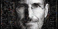 """https://flic.kr/p/241kz6A   SteveJobs   a collage consisting of 4000 images, forming the image of someone who inspired many people; """"Steve Jobs""""."""