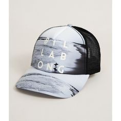 Billabong Take Me Three Trucker Hat ( 23) ❤ liked on Polyvore featuring  accessories 6d0fb287209